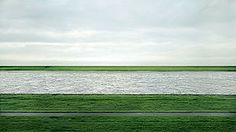 Andreas Gursky, Rhein II, C-print mounted to plexiglass in artist's frame. This became the most expensive photograph ever sold at auction last year. Andreas Gursky, Montage Photography, Fine Art Photography, Inspiring Photography, Information Art, Artist At Work, Contemporary Artists, Picture Photo, Beautiful Places