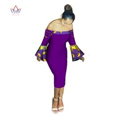 >> Click to Buy << BRW 2017 New Autumn african dresses for women vestidos Off the shoulder african dresses Plus size Sexy african clothing WY1874 #Affiliate