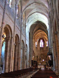 Eglise St-Sauveur.Figeac (Lot) - Midi-Pyrénées
