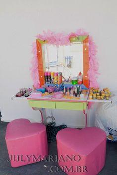 CAMARIM KIDS - Salão de beleza infantil na sua festa! | Bombando Brinque Recreação e Locação de Brinquedos para Festas e Eventos