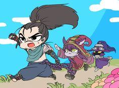 Yasuo + Lulu e Veigar
