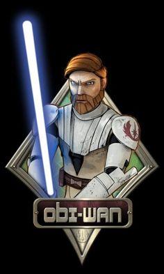 Obi-Wan Kenobi from Star Wars: The Clone Wars tv show