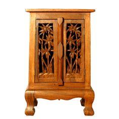 Palm design carved furniture