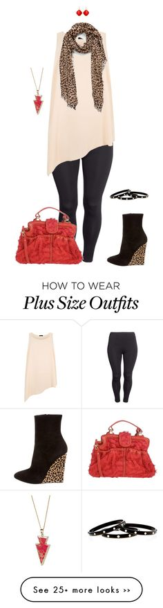 """""""Happy kitty- plus size"""" by gchamama on Polyvore featuring H&M, Giuseppe Zanotti, Jamin Puech, Sole Society, Nest, Avindy and Helix & Felix"""