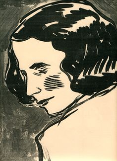 Illustration of Edna St.Vincent Millay for The New York Times Book Review, 2001. Leanne Shapton