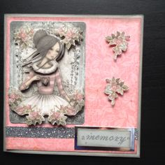 Glitter Decoupage Santoro collection pre cut dies.