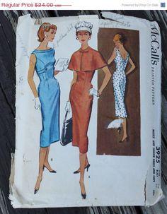 25% SewIntoSummerSale McCall 3925 anni cinquanta anni 50 vestire e Cape Vintage cartamodello taglia 14 busto 34 di EleanorMeriwether su Etsy https://www.etsy.com/it/listing/207927982/25-sewintosummersale-mccall-3925-anni
