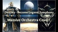 """""""Destiny - Become Legend Symphony"""" - Arrangement (Destiny) - TRACK INFO (Track List in the description!)  """"Destiny - Become Legend Symphony"""" - Alex Hull  Upload Date: October 19 2016  Original Composers: Marty O'Donnell Michael Salvatori and Paul McCartney (yes that Paul McCartney)  Special thanks to my homie Kade for helping me record gamplay!   TRACK LIST Part 1 - Overture 0:00 Rise of Iron 0:34 Bow to No One 1:09 Guardian  Part 2 - Destiny: Year One 2:04 Sepiks Prime 3:23 Reef Ambience…"""