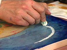 Encaustic Collage Techniques | How to Make an Encaustic Collage Painting : Archive : Home & Garden ...
