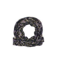 MICHAEL KORS Elderflower-Print Wool And Silk Scarf. #michaelkors #all