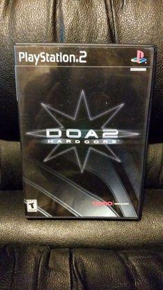 DOA2: Hardcore (Sony PlayStation 2, 2000 NTSC) Complete With Manual