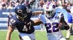 Buffalo Bills Awards: Robert Woods, Kyle Williams Highlight Best Plays Bills Win Over Chicago Bears