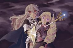 Kamui and little Nohrian sis - FE If