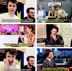 Ansel Elgort is a fresh, young, little nugget.