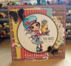 Kerri has the adorables Cakes stamps from My Besties on the blog for you.