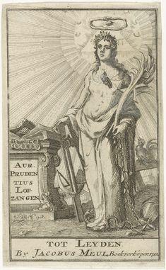 Maria als de apocalyptische vrouw en personificatie van de Aandacht, Sieuwert van der Meulen, 1710