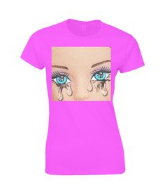 tears/crying/emotions/popart/dollsCreative Barbie inspired Art at Plastic PamBy Kirsty Hotson Pop Art, Barbie, Plastic, T Shirts For Women, Crop Tops, Sweatshirts, Lady, Crying, Inspiration