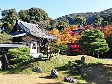 The Higashiyama District along the lower slopes of Kyoto's eastern mountains is one of the city's best preserved historic districts