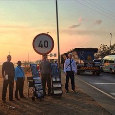 A perfect place for a cart, 1300 truck drivers pass by every day. Photo taken by @jadengbarnard Submit your photos etc…