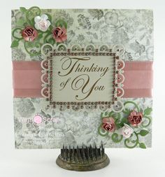Thinking of You card by Candy Slabaugh