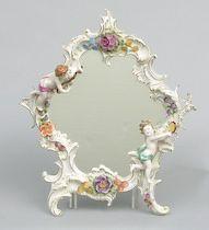 Capodimonte Porcelain Wall Mirror