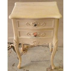 french provincial furniture images | FRENCH PROVINCIAL FURNITURE LOUIS XV SHABBY CHIC NIGHTSTAND TWO ...