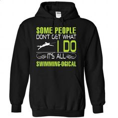 It is all swimming logic - #vintage t shirts #graphic hoodies. GET YOURS => https://www.sunfrog.com/LifeStyle/It-is-all-swimming-logic-3902-Black-21950152-Hoodie.html?id=60505
