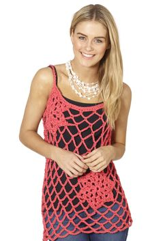 Bolster Crochet Top
