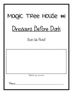 This book club packet contains comprehension questions that supplement the book: Magic Tree House