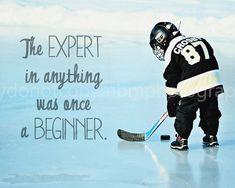 Ice Hockey 301389400049411357 - Hockey Print The expert in anything was by SportyPrintsbyMBM Source by lionelleclerc Hockey Girls, Hockey Mom, Hockey Teams, Hockey Players, Hockey Stuff, Hockey Coach, Kings Hockey, Rangers Hockey, Softball Stuff