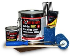 Monstaliner 1 Gallon Roll-On Bedliner Kit Black Monstaliner. For everything NOT Red. :-)
