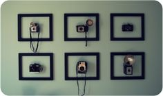 Doe het zelf: Ingelijste fototoestellen