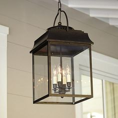Laurent 4 Light Hanging Lantern -- Ballard, $250, dinette?