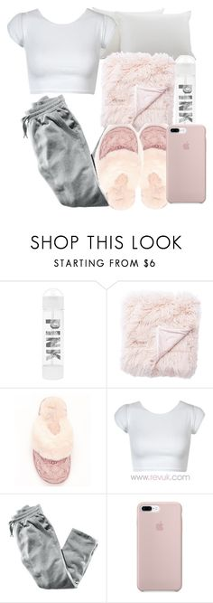 """I wanna 7+"" by pimpcessjayyy ❤ liked on Polyvore featuring Victoria's Secret, UGG and H&M"