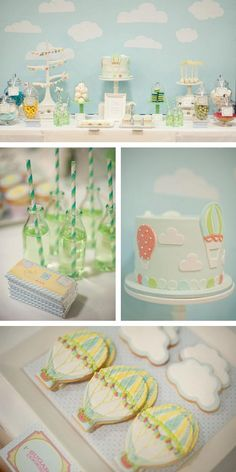 Hot Air Balloon Birthday Party | Hot Air Balloon Party