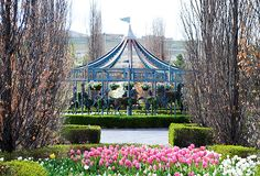 Carousel was a hidden jewel. May 21, 2012 Tulip Festival, at Thanksgiving Point, Utah.