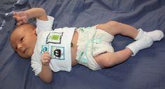 Pinstripes and Polkadots - Newborn diapering photo gallery
