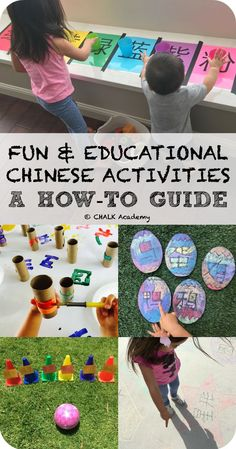 CHALK's How-To Guide on Fun & Educational Chinese Activities