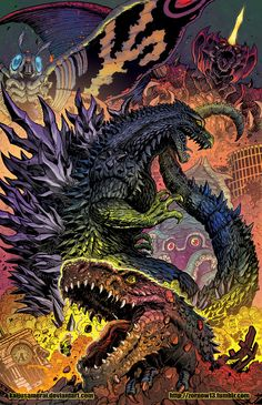 Godzilla Rulers of Earth Japanese Edition NEW vol1 by KaijuSamurai.deviantart.com on @DeviantArt