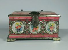 Vintage Blue Bird Confectionery Harry Vincent Limited Coin Tin From England