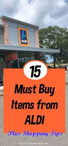 15 Must Buy Items from ALDI Market plus ALDI Shopping Tips to save hundreds each…