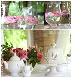 white interior blanc mariclo pink roses and sahbby and chic lovely ceramic