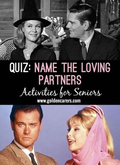 # Valentine's Day - February 14 # Nostalgia and reminiscing quiz for seniors all about sweethearts from comics, cartoons, TV and films. Read out the name of the girls on the left and ask participants to name the loving partners!