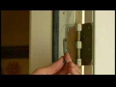 Home Repair : How to Tighten a Loose Door Hinge