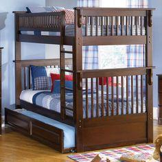 Atlantic Furniture Colorado Twin over Twin Bunk Bed