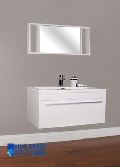 """<div style=""""font-family: Arial;""""> <span style=""""font-size: 14pt;"""">36"""" Modern Wall Mounted Bathroom Vanity</span><br /> <span style=""""font-size: 18pt; color: rgb(0, 0, 205);""""> </span></div>"""
