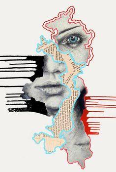 Arte Gcse, Art Du Collage, Collage Drawing, Drawing Tips, A Level Art Sketchbook, Sketchbook Ideas, Art Alevel, Frida Art, Art Sculpture