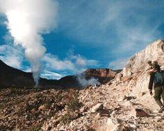 Papandayan Mountain at Garut, West Java.. #wonderfulworld