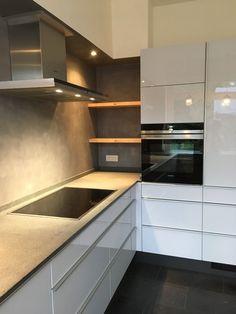Kitchen Room Design, Kitchen Cabinet Design, Modern Kitchen Design, Home Decor Kitchen, Interior Design Kitchen, Diy Kitchen Storage, Modern Kitchen Cabinets, Minimalist Kitchen, Cuisines Design