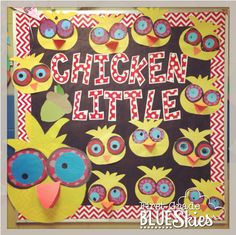 Chicken Little-shut the front door!!! These are Adorable.